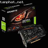 VGA GIGABYTE GV-N105TOC-4GD (GeForce GTX 1050Ti)
