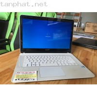 Laptop Sony Vaio SVF142C2GW(intel pentium 978,  2 GB, DDR3 ,HDD 500GB)