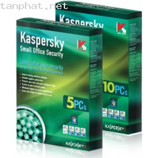Koss: 5(Kaspersky small office security  1 Server + 10Pc) GIÁ BOX : 3700K