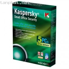 Koss: 5(Kaspersky small office security  1 Server + 5Pc) GIÁ BOX : 2700K